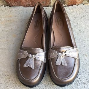 Clark's Ashland Bubble Slip On Loafers Size 9 New
